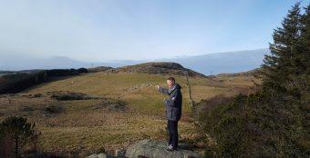 VIL BYGGE: Svein Olav Aalgaard er en av de som vil bygge boliger i Gjesdal.