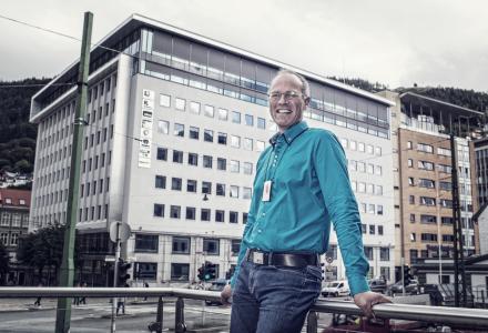 VIKTIG: God dokumentasjon er ikke bare viktig, det er også god butikk. Det forteller Ole Kristian Johannessen i Newsec Basale. (Foto: Morten Wanvik)