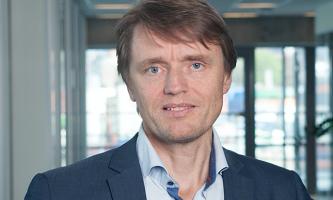 PÅ FLYTTEFOT: Deloitte flytter inn i Media City. Jon Osvald Harila, som har ledet prosessen, gleder seg.