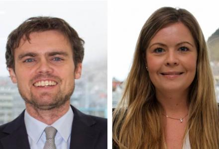 Artikkelforfattere Therese Foss, advokat merverdiavgift EYs Tax & Law og Håkon Mastrup, advokat skatt EYs Tax & Law
